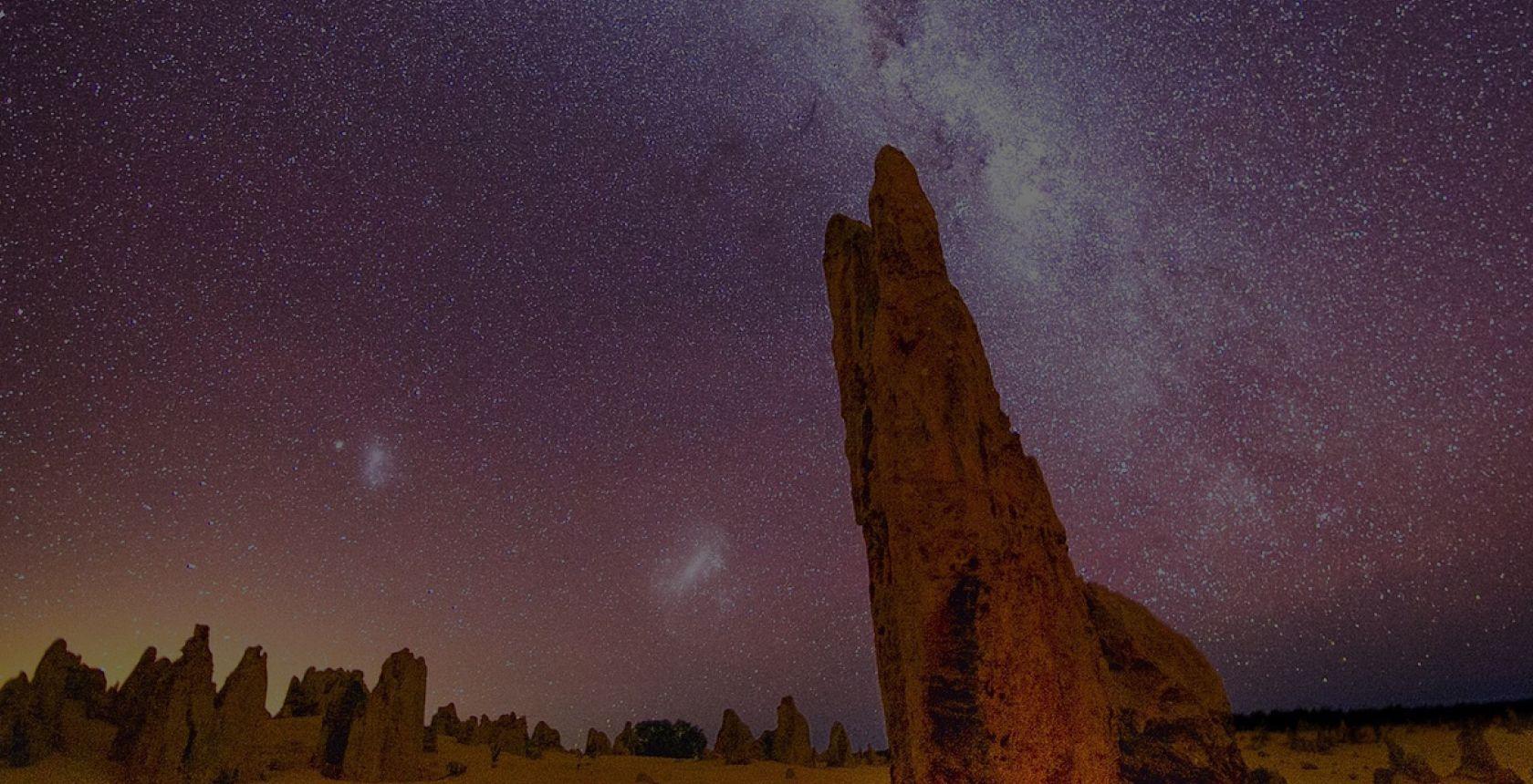 한인가이드 피나클 사막 선셋 별빛 투어