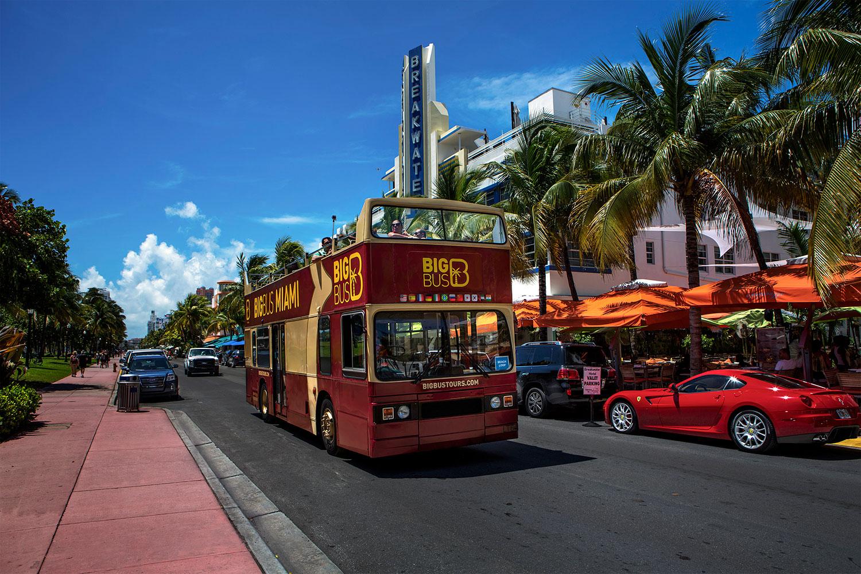 (品牌直簽,閃電出票)Big Bus Miami 邁阿密隨上隨下觀光巴士