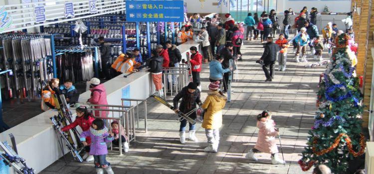 太行五指山滑雪場3