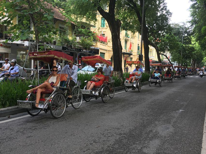 【三輪車漫遊河內】老城區人力車體驗