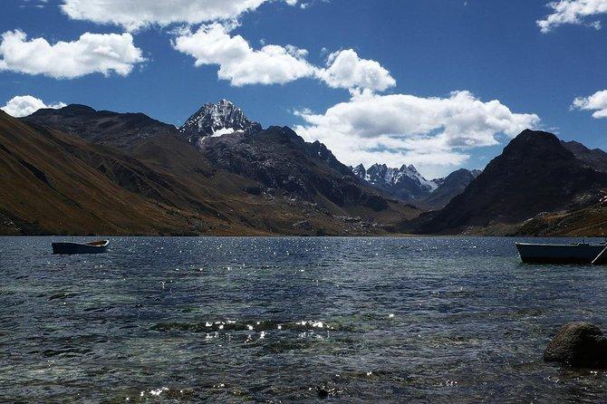 Querococha Lagoon and Chavin de Huantar from Huaraz