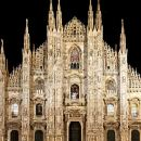 Illuminated Milan Tour of Must-See Sites for Kids & Families with Gelato & Pizza