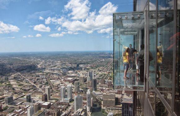 【挑戰膽量極限】芝加哥透明玻璃觀景台 Skydeck Chicago