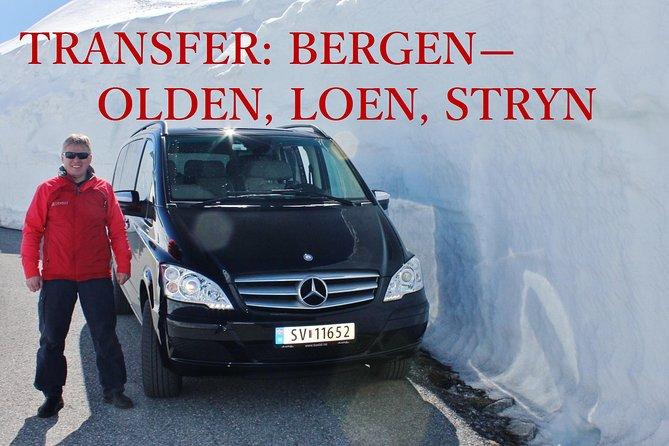 WINTER TRANSFER Bergen - Olden, Loen, Stryn