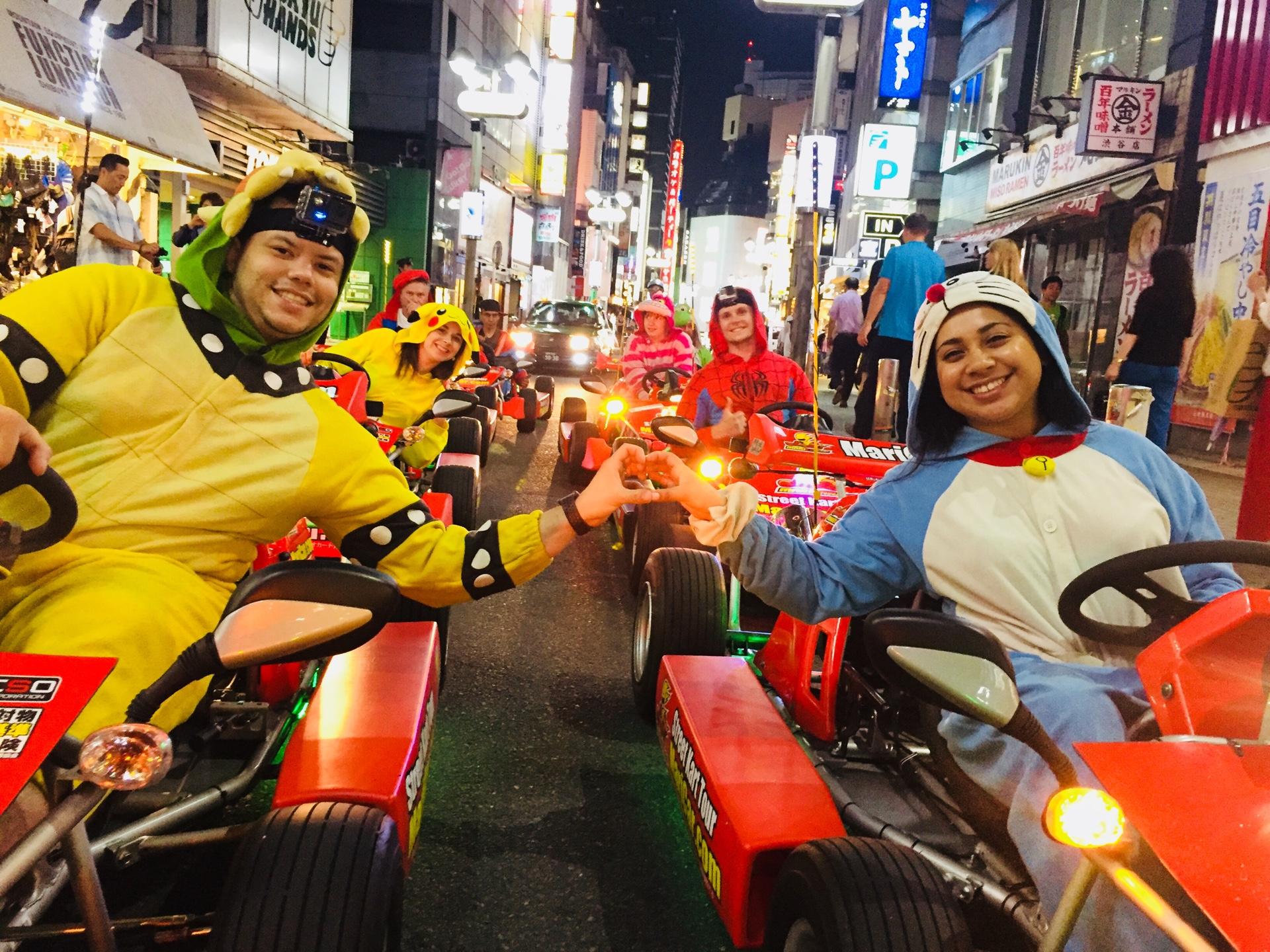 일본 마리카 카트 (도쿄, 오사카, 오키나와)