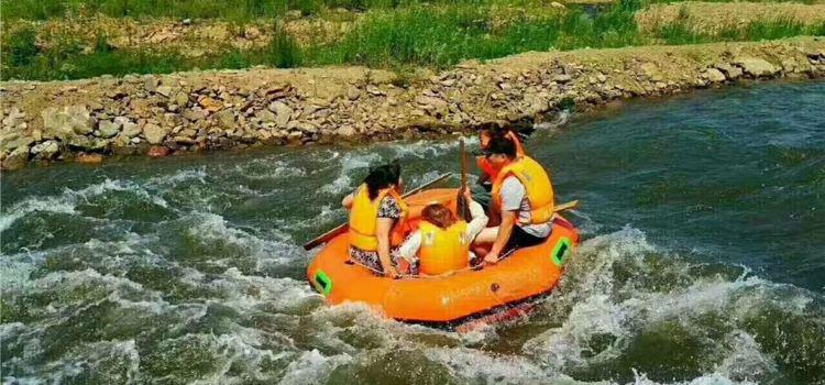 Zhuanshui Lake Rafting2