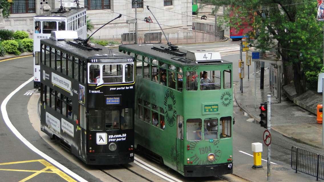 Hong Kong Island Tram and Walking Day Tour