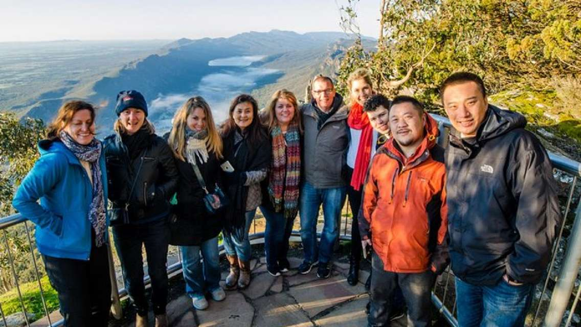 Small-Group Grampians Great Escape Day Trip with Eureka Skydeck Entry Option