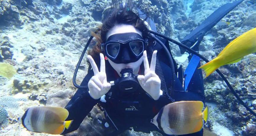 蘭嶼一對一潜水體驗