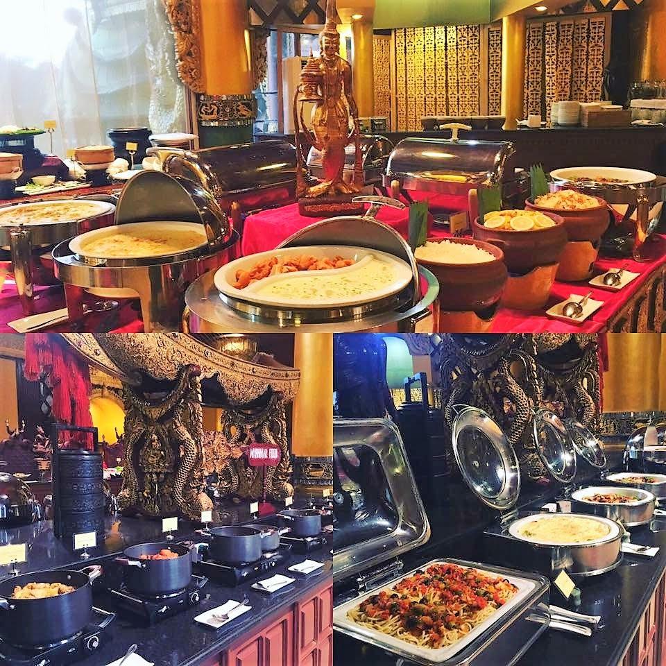 緬甸仰光卡威拉宮自助晚餐和文化表演半日游(含往返獨立交通皇家體驗)
