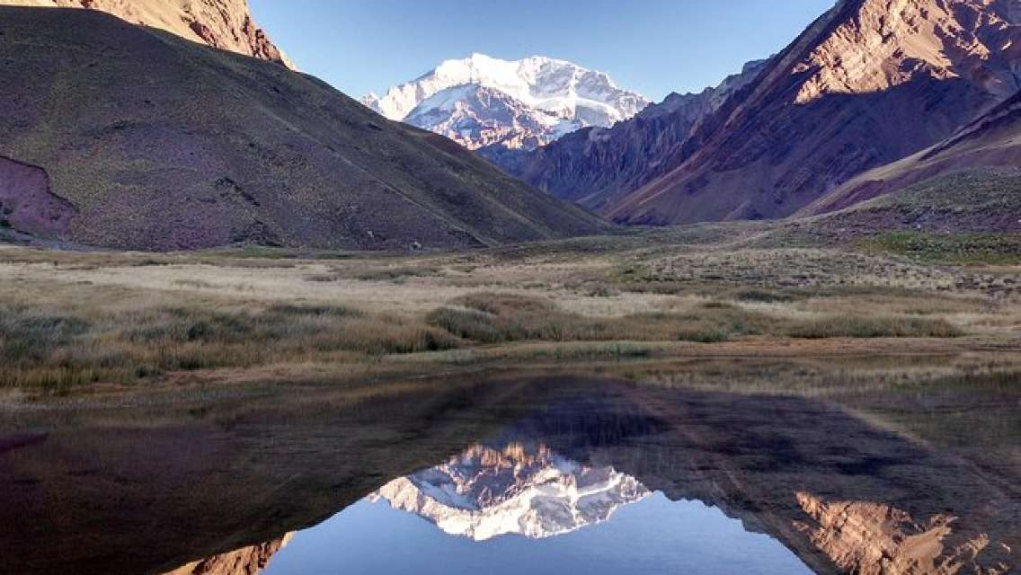 Andes Mountain Tour Circuit Mt Aconcagua