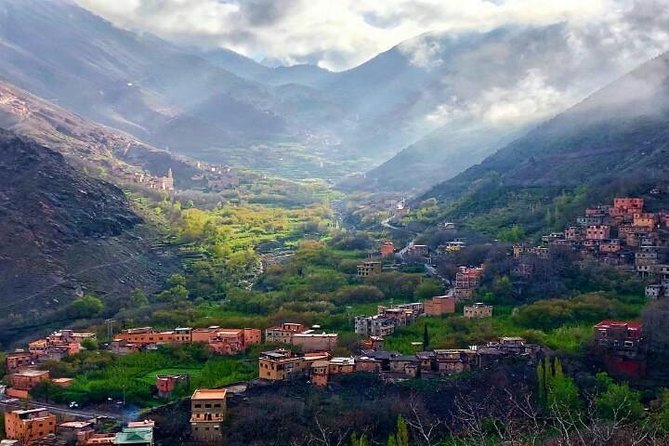 Atlas Mountains with Visit to Local Berbers and Camel ride
