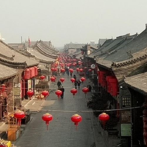 One Day Private tour to Pingyao and Qiao Family Compound from Taiyuan