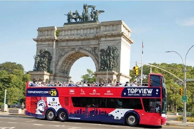 Brooklyn Double-Decker Sightseeing Bus Tour, from Lower Manhattan