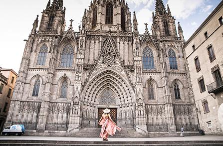 바르셀로나 인스타그램 명소 스냅 촬영
