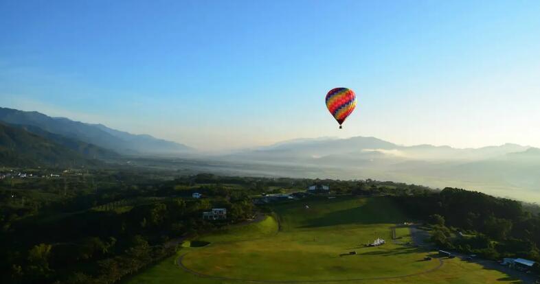 台東鹿野高台熱氣球自由飛(專業執照教練+飛行證書+空中漂浮之旅)