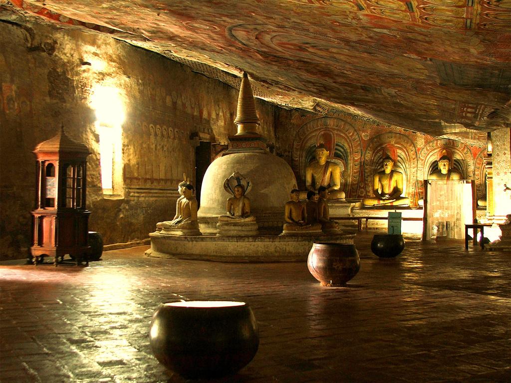 斯里蘭卡獅子岩+丹布勒石窟一日遊(含門票+午餐/可選華人嚮導)