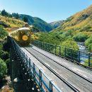 Dunedin Taieri Gorge Railway Train Journey