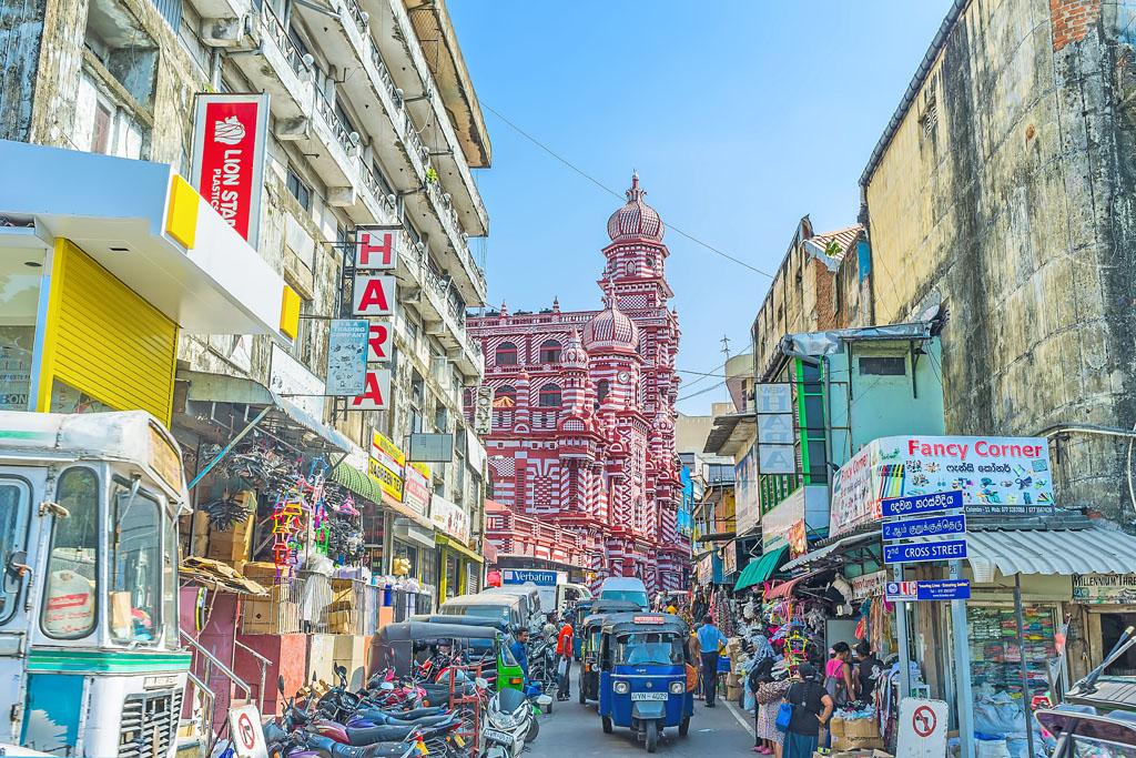 斯里蘭卡科倫坡國家博物館+紅色清真寺+貝拉湖水中廟+岡嘎拉馬寺廟一日遊(酒店接送)