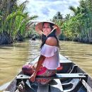 Small Floating Market & Mekong Delta Tour with Kayak, Boat, Bike, Cooking Class