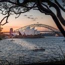 Brilliant Sunset Sydney Harbour Photography Tour