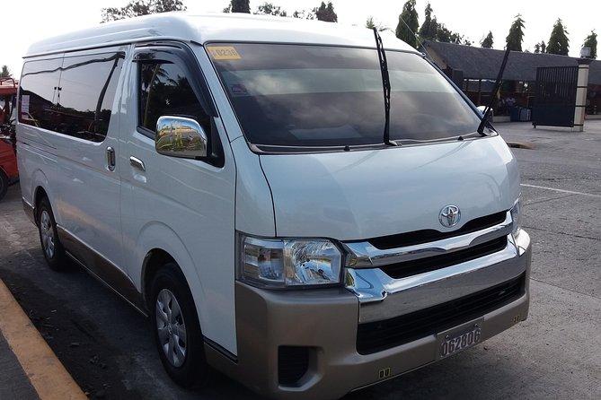 Kalibo Airport to Caticlan Jettyport Private Van Transfer