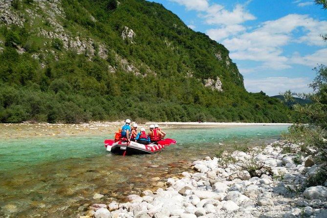 Easy Family Rafting on the Soča River - Bovec, Slovenia
