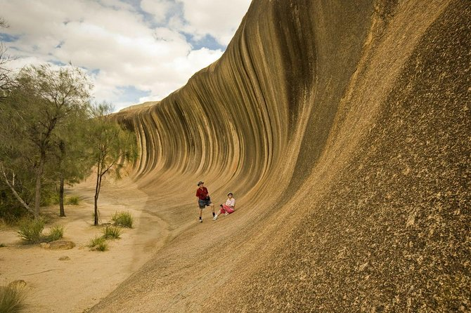 Wave Rock, York, Wildflowers, and Aboriginal Cultural Tour from Perth