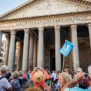 Best of Rome Walking Tour: Pantheon, Piazza Navona, and Trevi Fountain