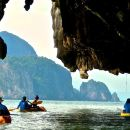 Phang Nga Bay Sea Cave Canoeing Tour by Longtail Boat from Phuket
