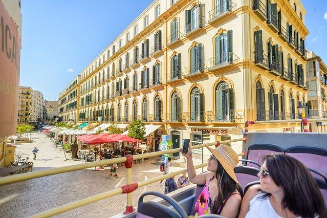 Malaga Shore Excursion: City Sightseeing Malaga Hop-On Hop-Off Bus Tour