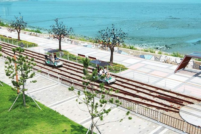 Incheon Seaside Rail Bike & Seagull Feeding Day Tour