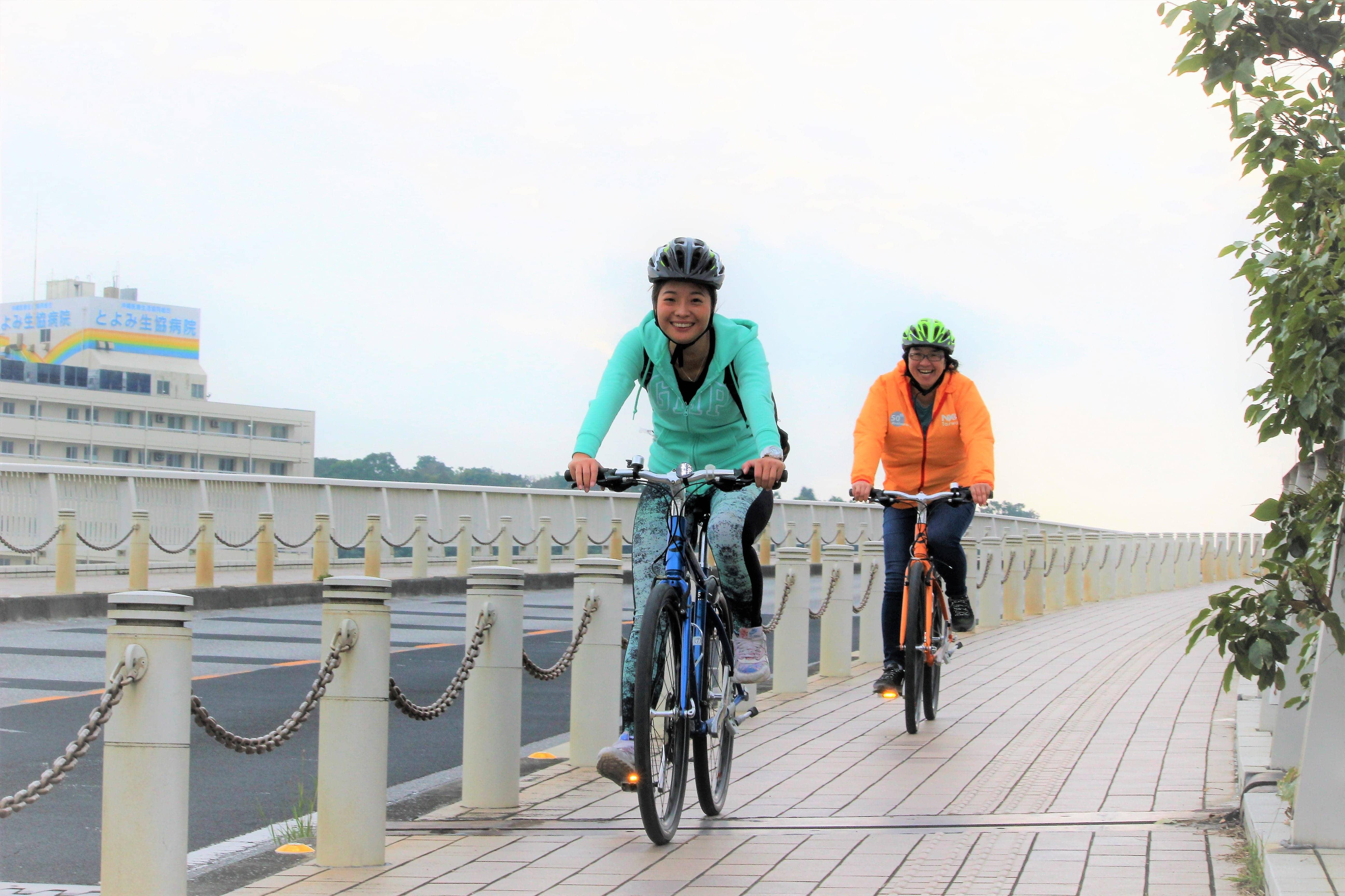 【자전거투어】오키나와 자전거 여행 (영어 가이드)