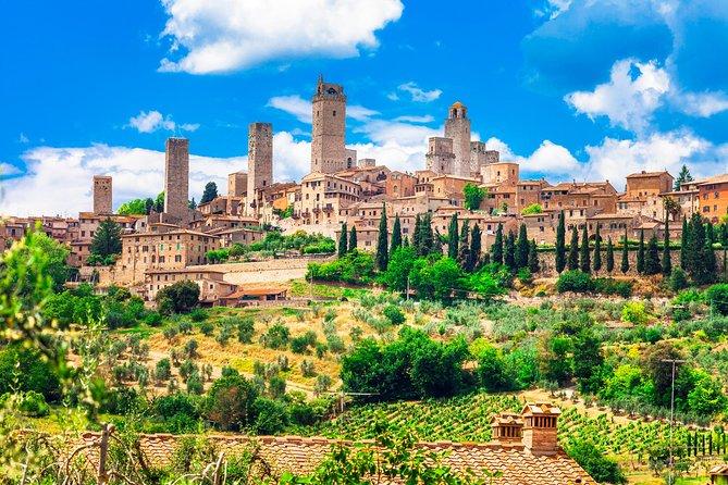Private Tuscany's Top Hill Towns: San Gimignano, Volterra and Certaldo Day Trip