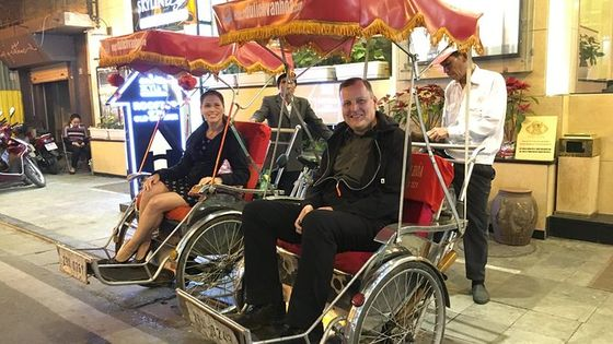 Amazing Hanoi Sightseeing Cyclo Tour An Hour