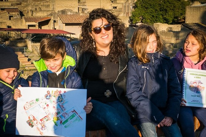 Amalfi Coast and Herculaneum for Families Private Tour from Naples