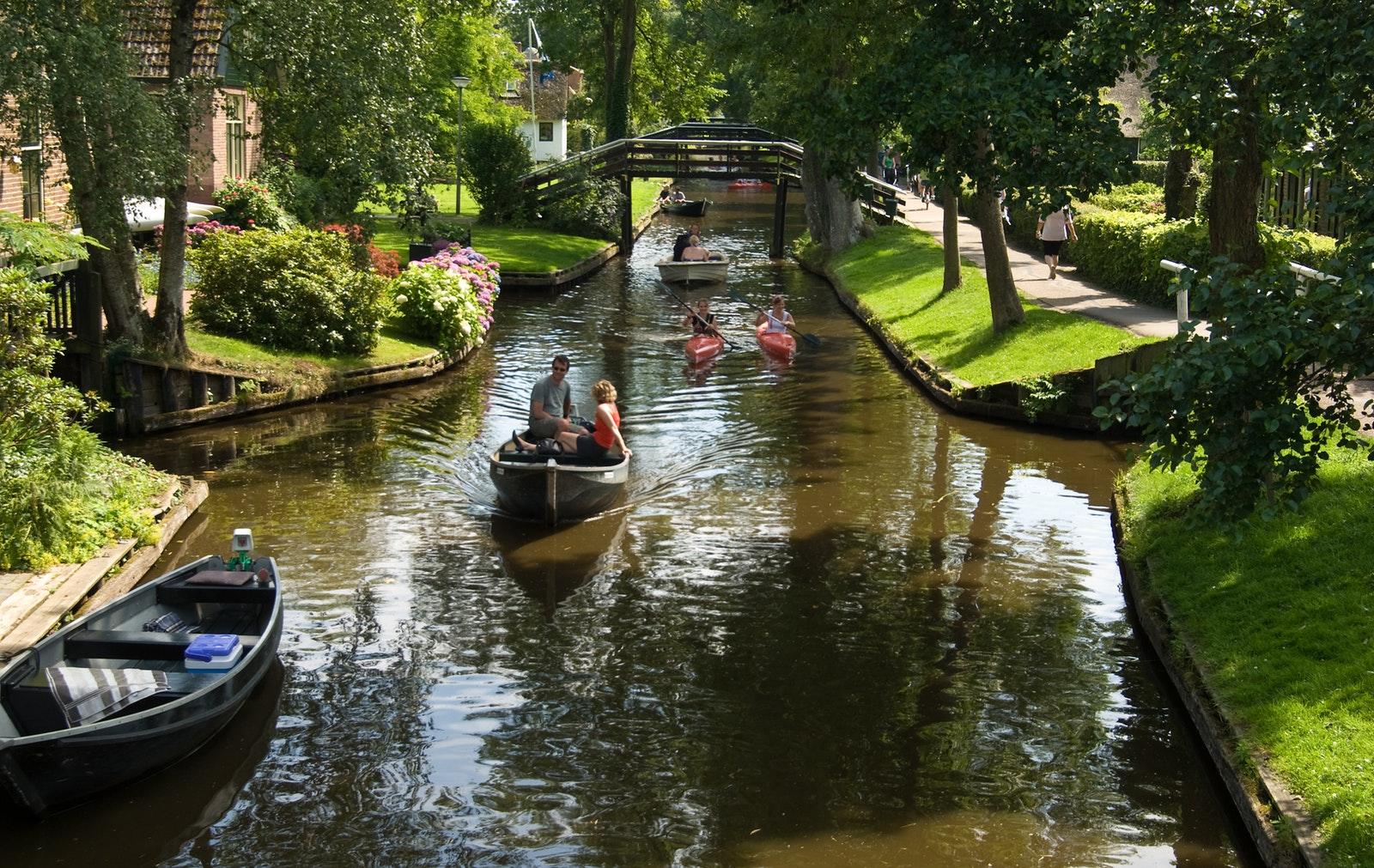 羊角村一日遊(阿姆斯特丹往返)+ 運河遊船票