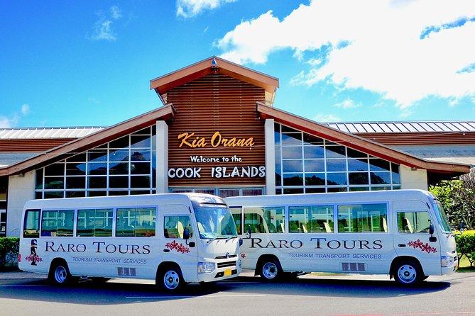 Rarotonga International Arrivals Seat in Coach Transfer