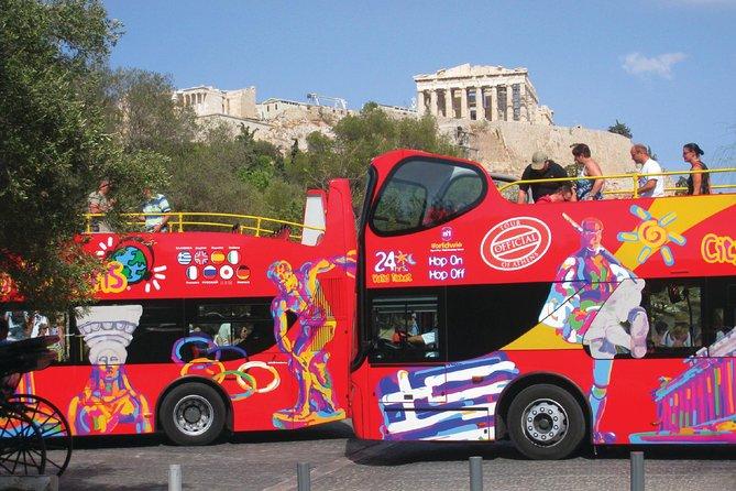 City Sightseeing Athens, Piraeus & Beach Riviera Hop-On Hop-Off Bus Tour