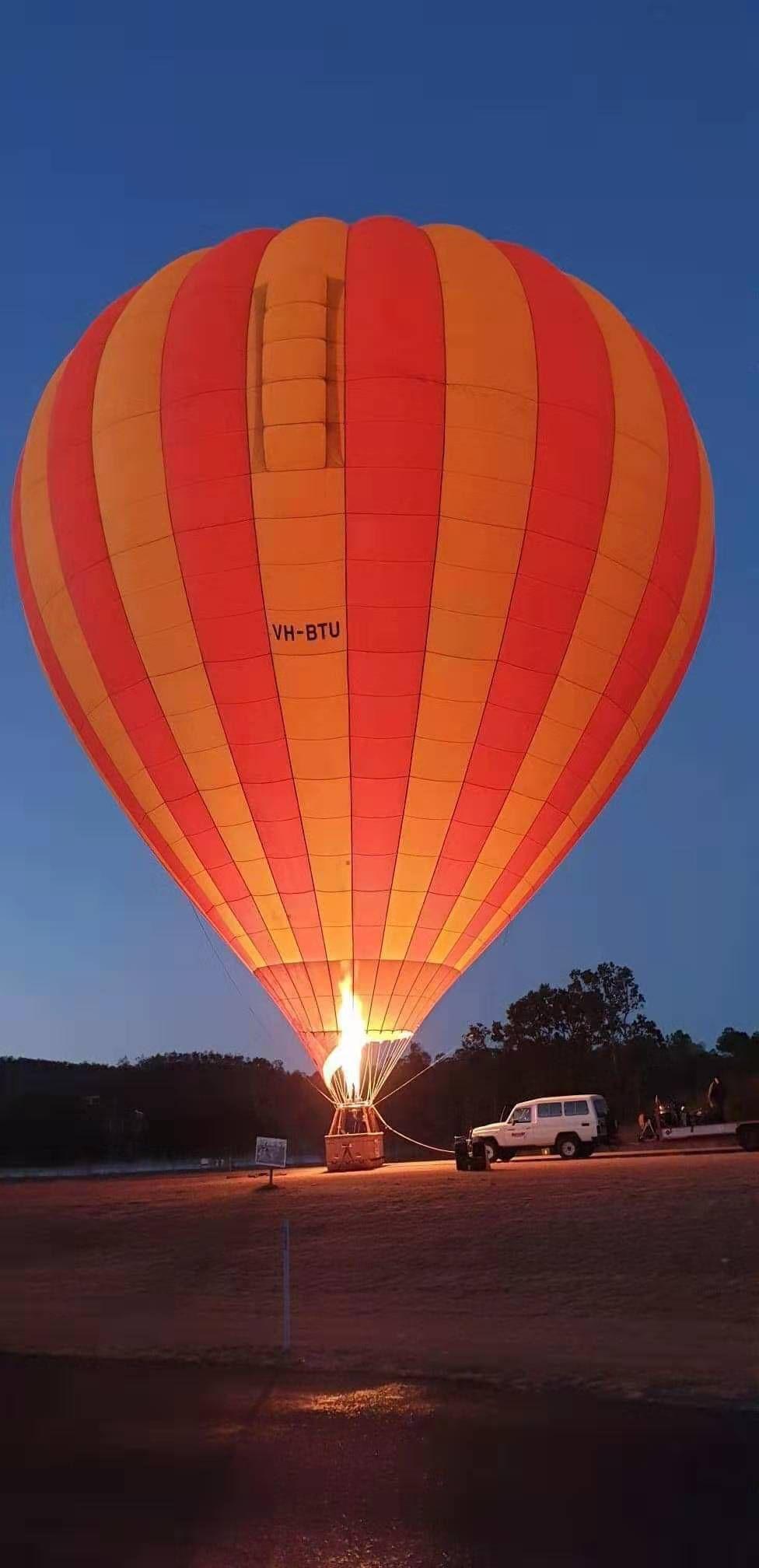 쿠랄빈 밸리 열기구 투어 Kooralbyn Valley Hot Air Ballooning