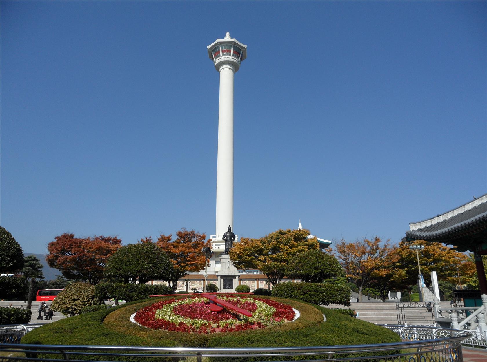 釜山タワー入場チケット