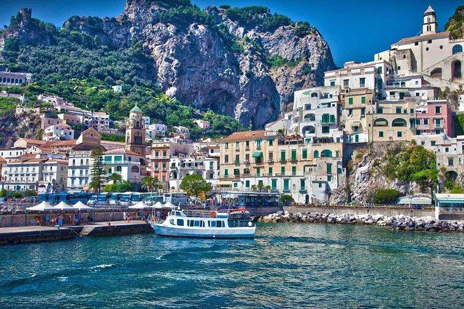 Amalfi Coast Day Trip from Naples: Positano, Amalfi, and Ravello