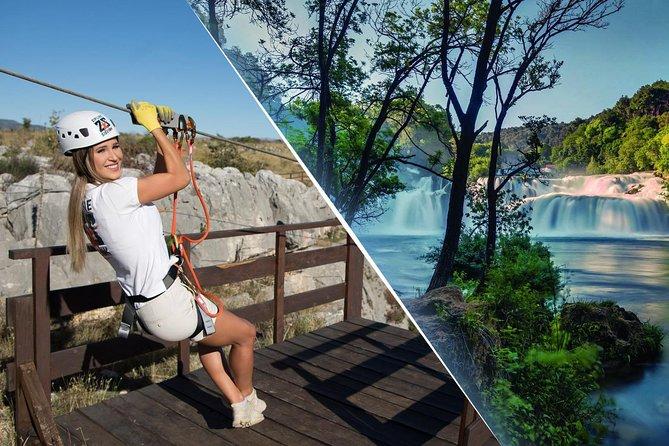 Krka National Park & Zipline Šibenik - Čikola Canyon