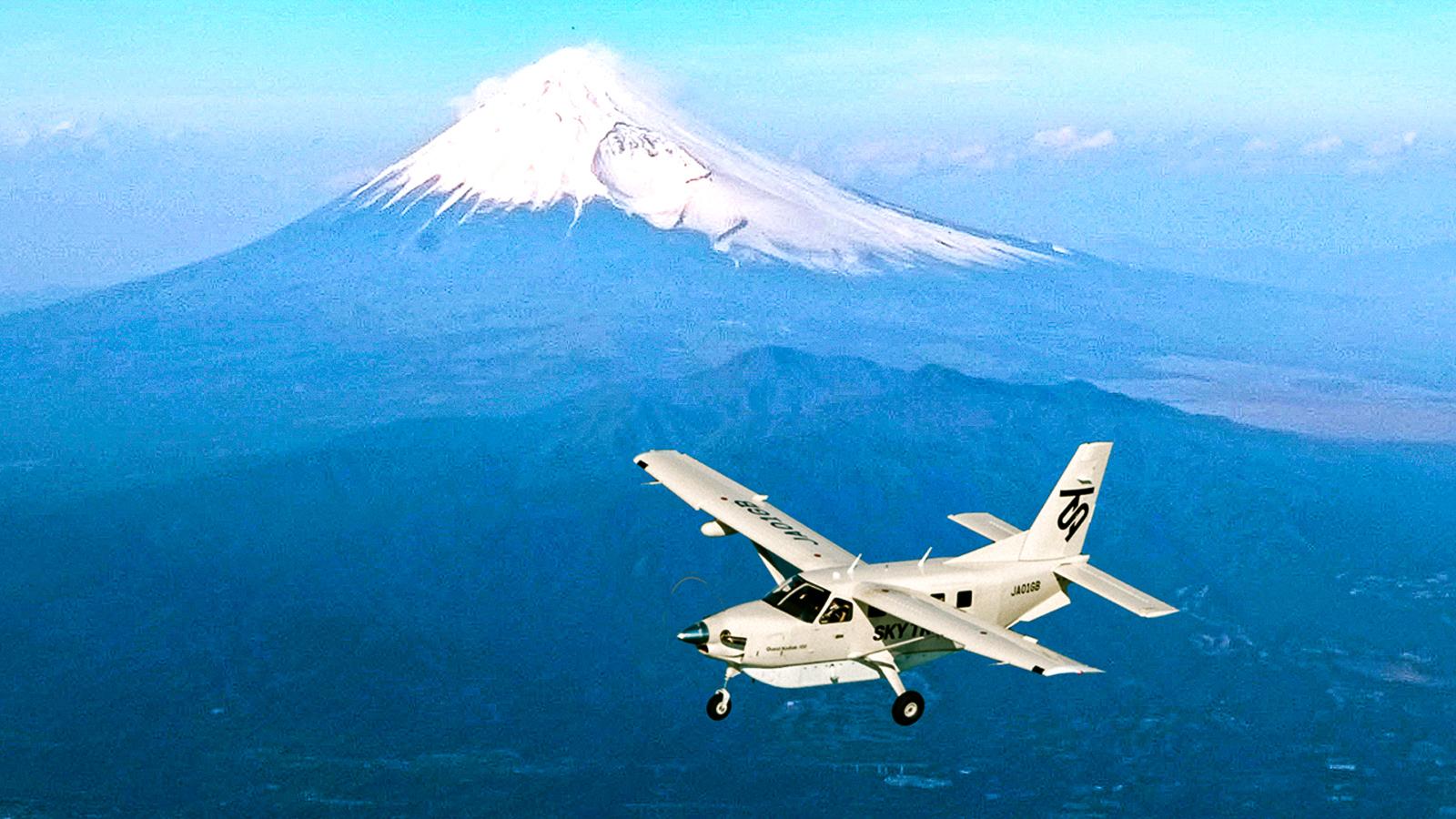 Half-Day Flight Tour of Mt. Fuji & Shinjuku from Tokyo