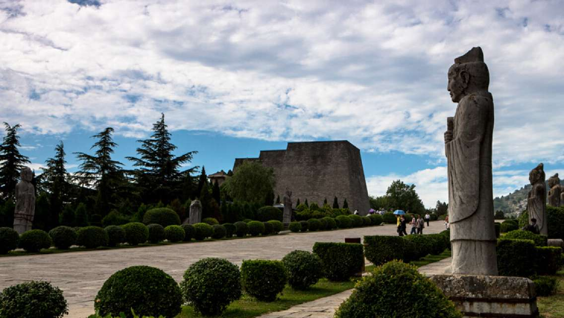 Xi'an One Day Private Historical & Rural Tour to Qianling Mausoleum and Yuanjiacun Village