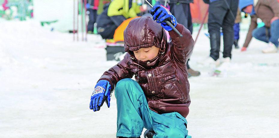 首爾往返 韓國平昌冰釣+玩雪一日遊(釣冰魚/烤魚/體驗雪橇/冰上活動)