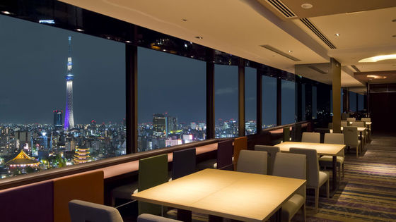 浅草ビューホテル・スカイグリルブッフェ武蔵 お食事クーポン|東京 レストラン予約