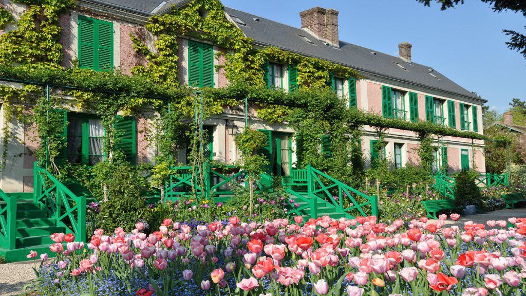 法國莫奈花園+故居半日遊