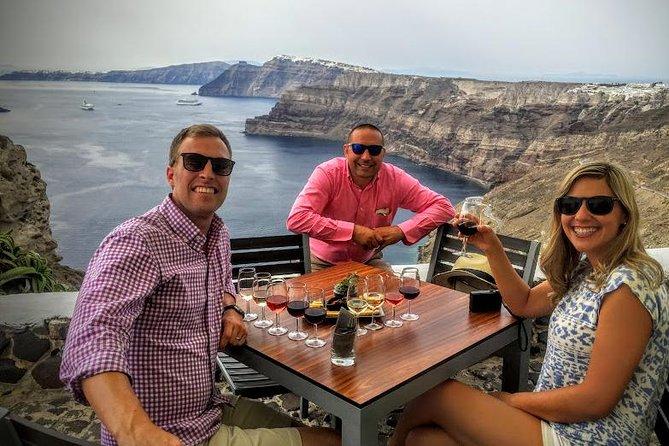 Experience Santorini: Wine Tasting Small Group Tour