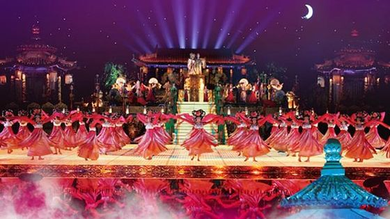 9-Course Court Banquet Dinner and Dance Show of The Song of Everlasting Sorrow